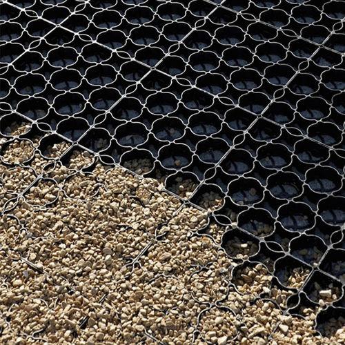 griglia salvaprato in plastica riciclata