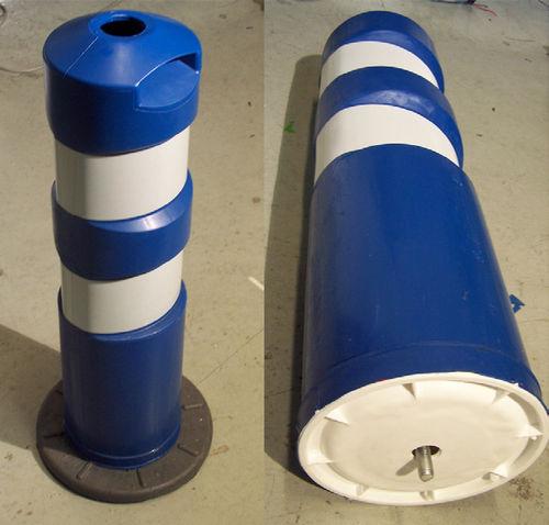 colonna antiparcheggio / in plastica / flessibile