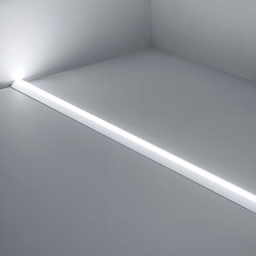profilo luminoso a muro