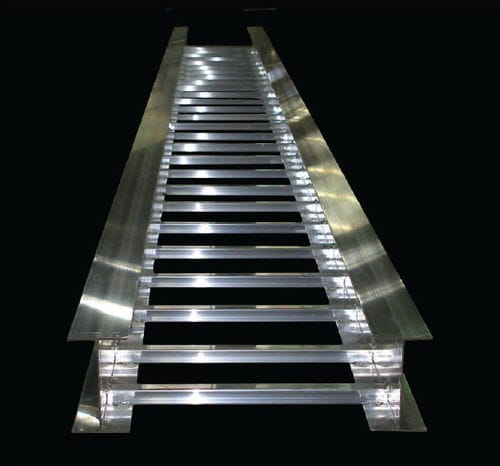 scala portacavi in acciaio / in acciaio inox / in alluminio / rivestita di PVC
