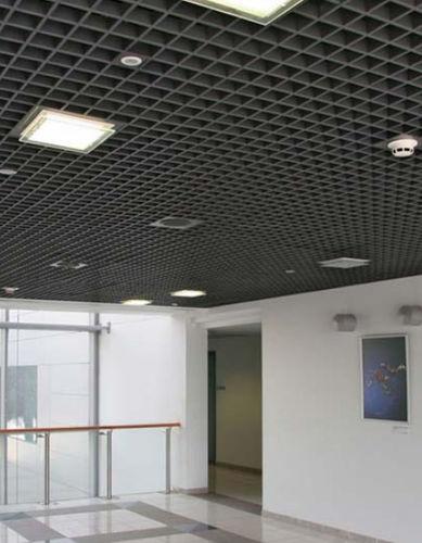 controsoffitto in alluminio / in acciaio galvanizzato / in pannelli / acustico