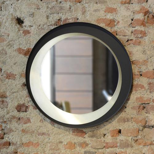 specchio a muro / sospeso / moderno / tondo