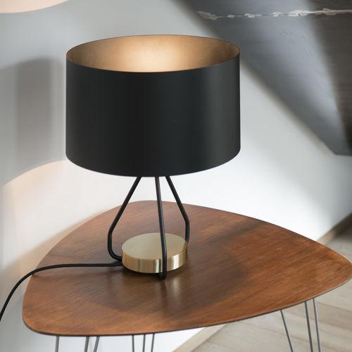 lampada da tavolo / moderna / in ottone / in metallo verniciato