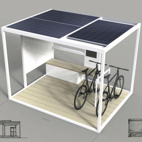 stazione di ricarica per telefono cellulare / solare