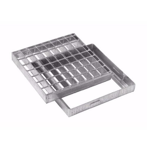 griglia di drenaggio in acciaio galvanizzato