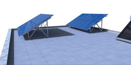 sistema di montaggio su tetto / per modulo fotovoltaico