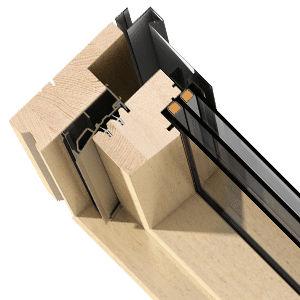 profilato per finestra in legno ricostituito