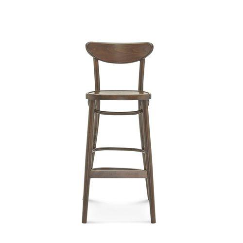 sedia alta classica / in legno / per ristorante