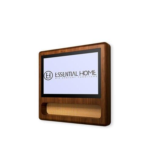 TV a specchio a muro / 4K / da sala / per camera da letto
