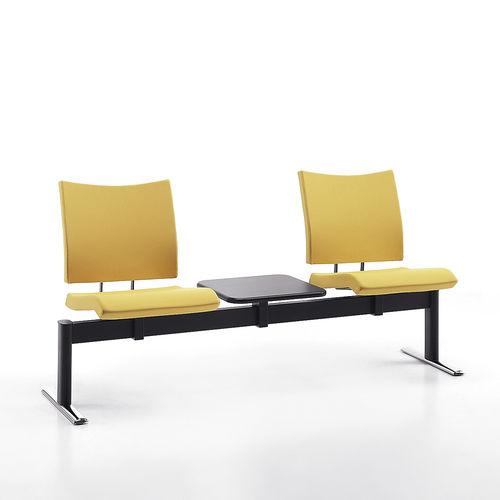 seduta su barra in metallo / in tessuto / 3 posti / 2 posti