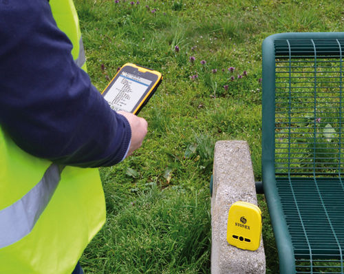 ricevitore GNSS / GPS / per cantiere