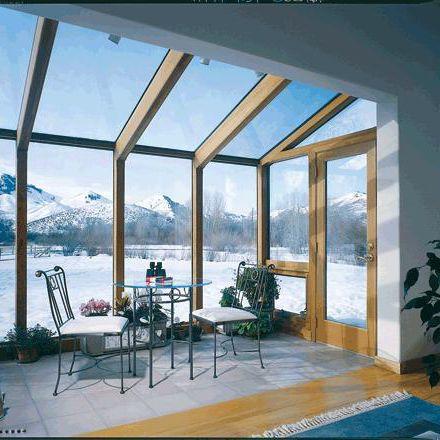 pannello in vetro riscaldato / a doppi vetri / per piscina / per sauna