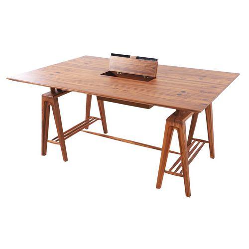 scrivania in teak