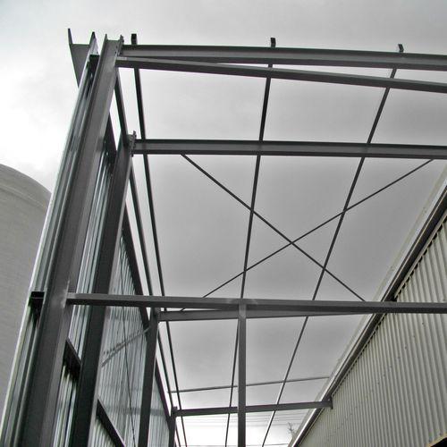 carpenteria metallica per costruzioni industriali