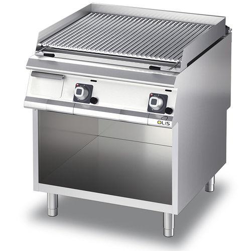 grill a gas / da bancone / professionale / in acciaio inox