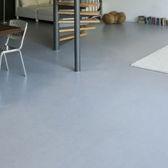 pavimento in cemento cerato / per il settore terziario / altri formati / liscio