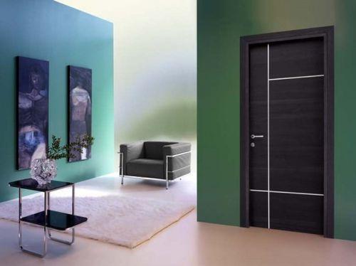 porta da interno / battente / scorrevole / a bilico con asse laterale