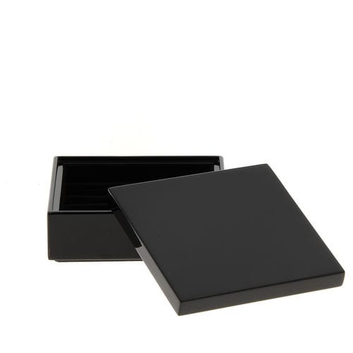 contenitori portaoggetti in legno laccato