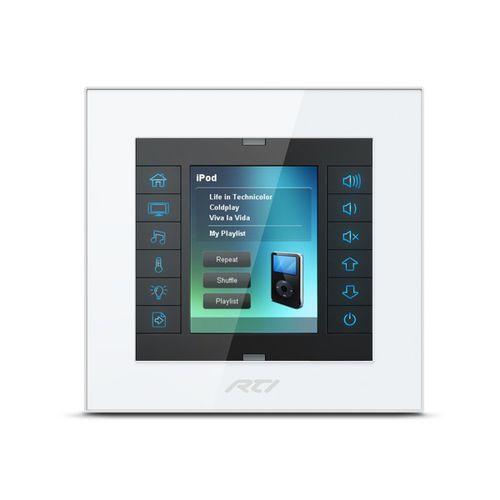 touch screen per sistema domotico audio