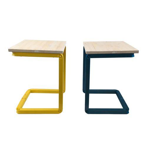 sgabello moderno / in legno / in metallo / contract