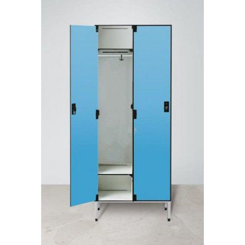 armadietto spogliatoio in HPL / per edifici pubblici / per impianto sportivo / per ufficio