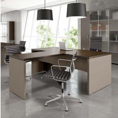 scrivania direzionale / in MDF / moderna / contract