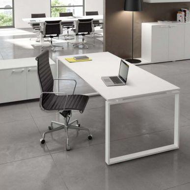 scrivania direzionale / in legno / in metallo / moderna