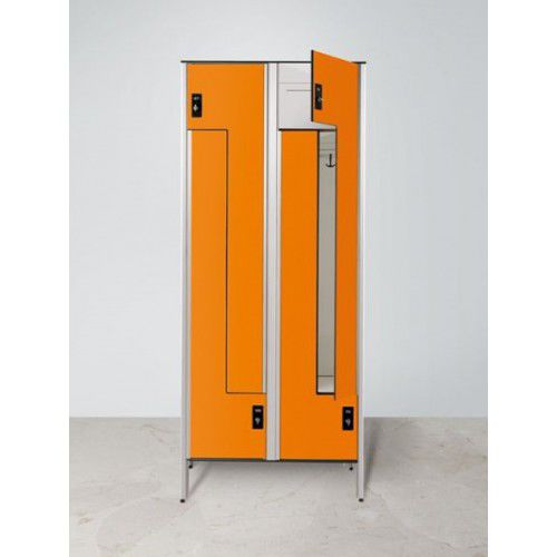 armadietto spogliatoio in HPL / standard / per edifici pubblici / per impianto sportivo