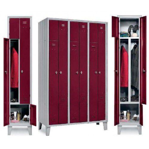 armadietto spogliatoio in metallo / standard / per edifici pubblici / per impianto sportivo
