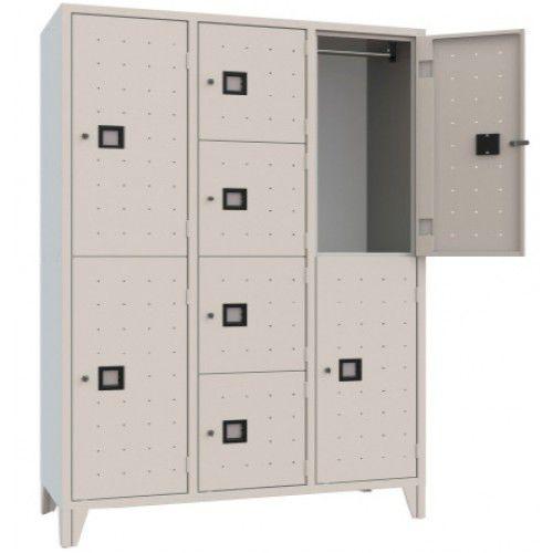 armadietto spogliatoio in acciaio / standard / per edifici pubblici / per impianto sportivo