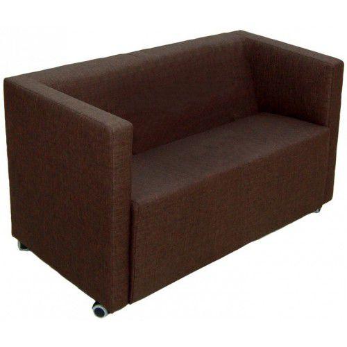 divano compatto / moderno / per zona reception / in pelle