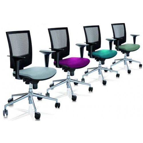 sedia da ufficio moderna / con rotelle / in rete