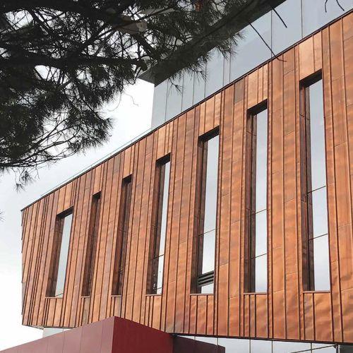 rivestimento di facciata in pannelli - Wickeder Westfalenstahl GmbH