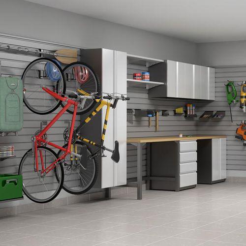 cassettone moderno / in acciaio / per garage