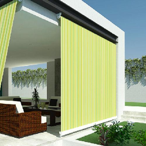 tenda da sole verticale / manuale / per terrazza