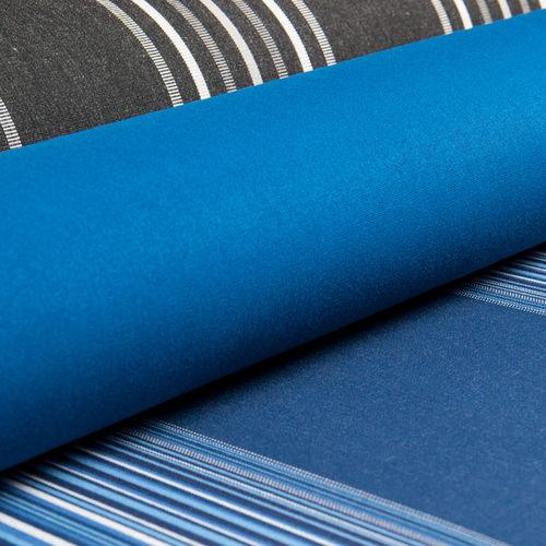 tessuto per protezione solare / a righe / a tinta unita / in acrilico
