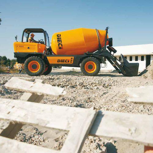 camion betoniera diesel