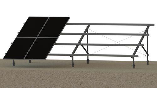sistema di montaggio a terra