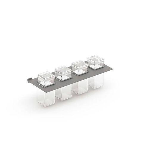mensola / moderno / in alluminio / per cucina