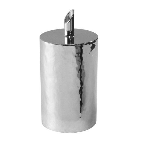 zuccheriera in metallo argentato