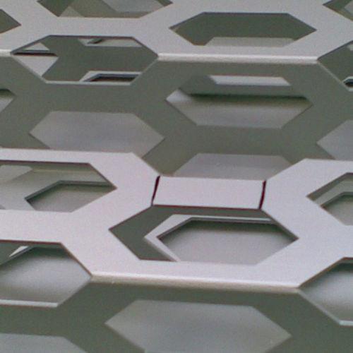 lamiera metallica perforata