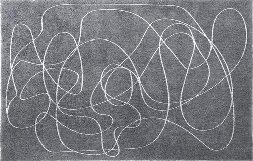 tappeto moderno / a motivi / in lana / in viscosa