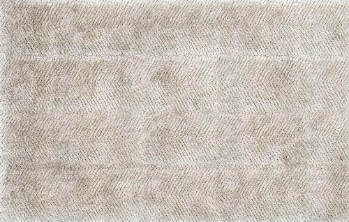 tappeto moderno / a righe / capitonné / in lana della Nuova Zelanda