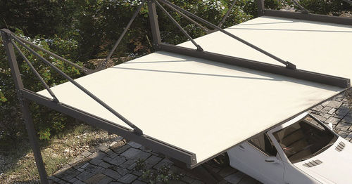 tettoia per posto-auto in alluminio / contract