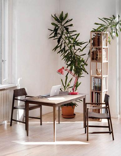 scrivania in legno / classica