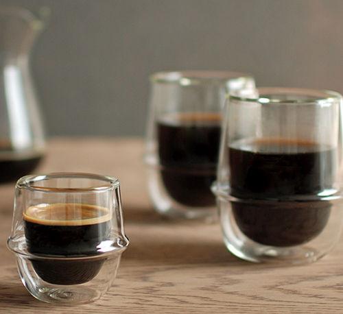 tazzina di caffè in vetro / per uso domestico / contract