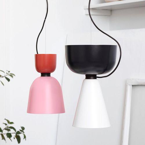 lampada a sospensione / moderna / in metallo spazzolato / LED