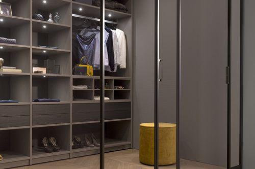 Cabina armadio moderna NANO Noteborn BV in legno