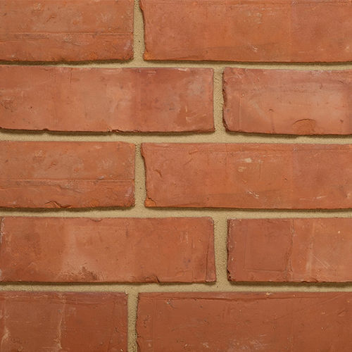 mattone pieno / per facciata / rosso / arancione