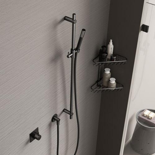 set doccia da parete / moderno / contract / con doccia a mano